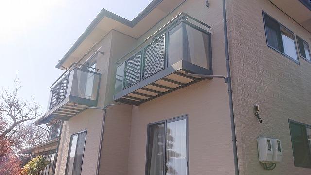松川町外壁屋根塗装現調2