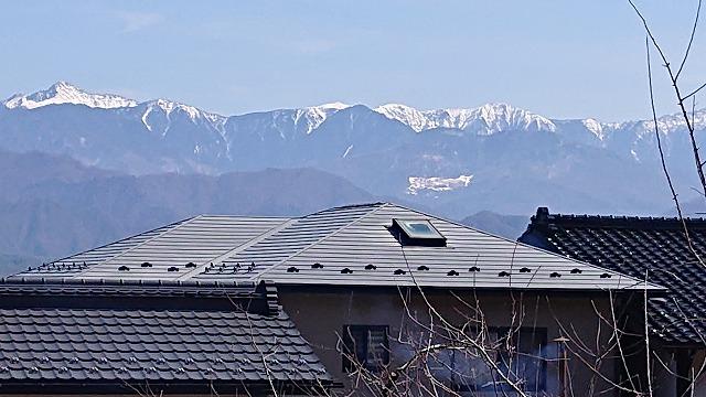 松川町外壁屋根塗装現調6