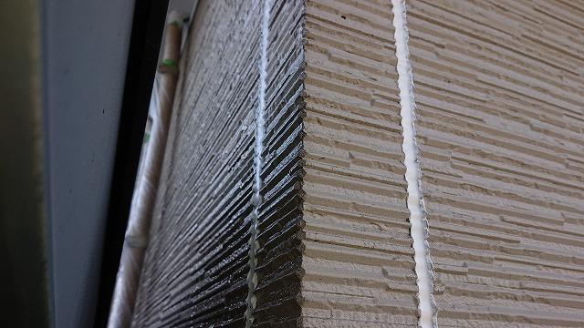 松川町外壁屋根塗装コーキング1