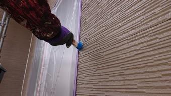 松川町外壁屋根塗装下塗り7