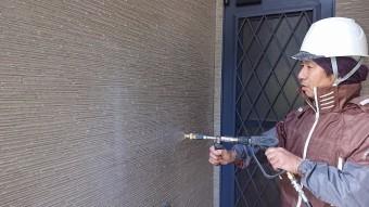 松川町外壁屋根塗装洗浄2