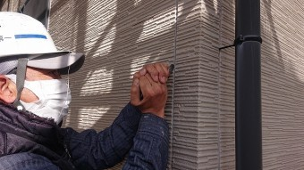 松川町外壁屋根塗装コーキング2