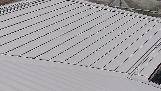 飯田市龍江遮熱塗料屋根下塗り6