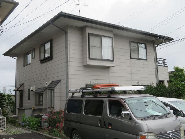 飯田市上殿岡 屋根外壁木部塗装現調1