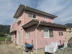 飯田市北方外壁塗装現調1