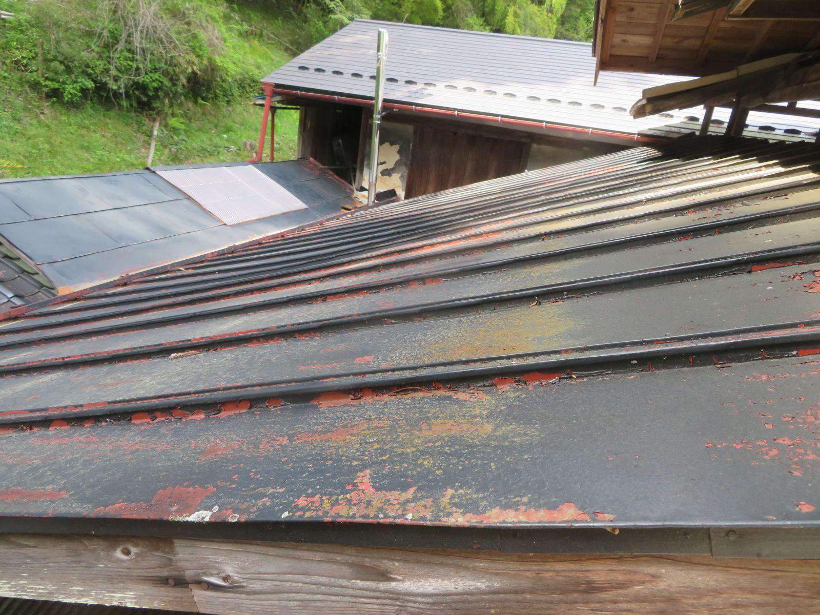 下條屋根塗装_ケレン2