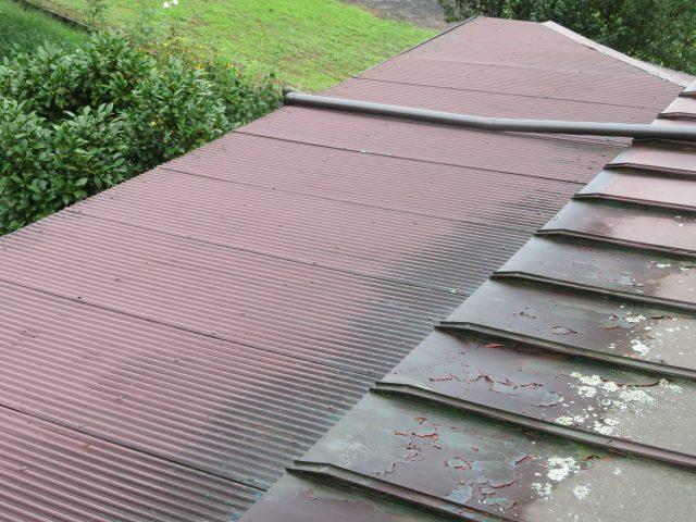 高森町屋根塗装_現調1