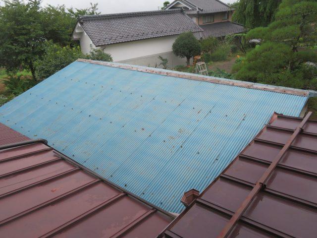 高森町屋根塗装現調