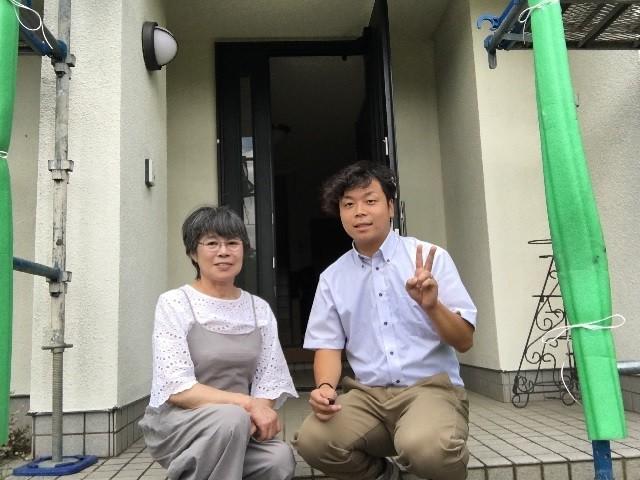 松川町でS様邸のスレート屋根コロニアル屋根塗装させていただきました。