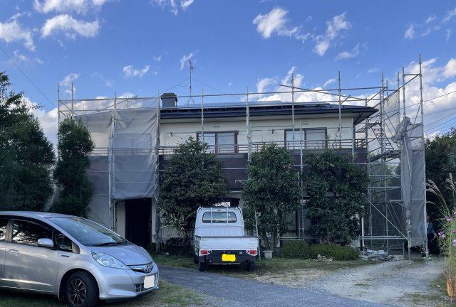 松川町外壁屋根塗装3