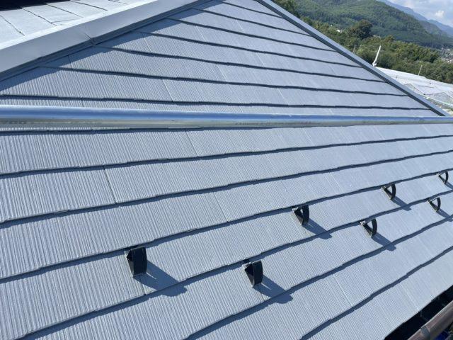 松川町外壁屋根塗装屋根塗装下塗り