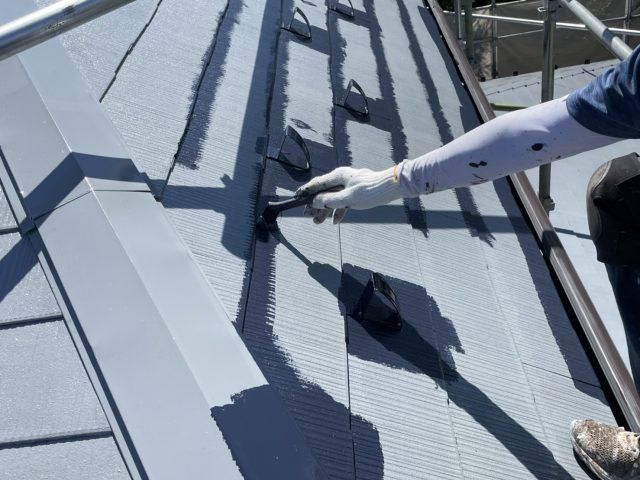 松川町外壁屋根塗装2