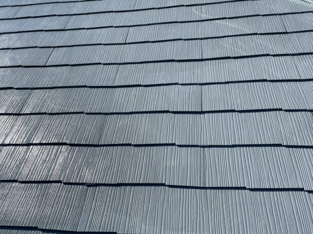 長野県飯田市にて遮熱塗料で屋根塗装工事を行います 屋根塗装完成です