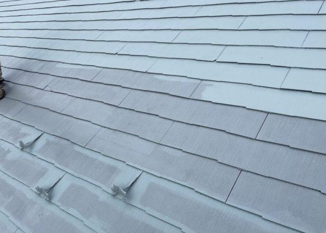 飯田市屋根塗装上塗り1