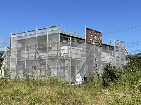 長野県飯田市にて遮熱塗料で屋根塗装工事を行います 外壁改修工事