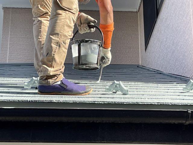 飯田市屋根塗装2