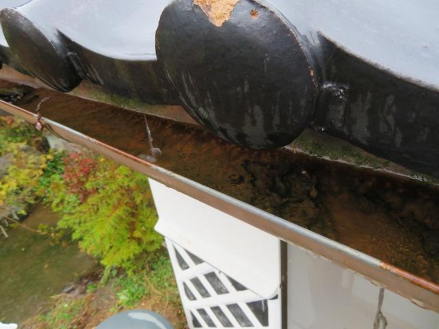 雨樋の現場調査です①