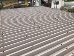 折半屋根塗装前です