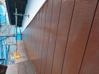 駒ヶ根市塗装金属上塗り2
