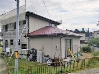 コロニアル スレートの屋根塗装完成しました。