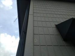 長野県駒ヶ根市外壁現状上塗り比較用2