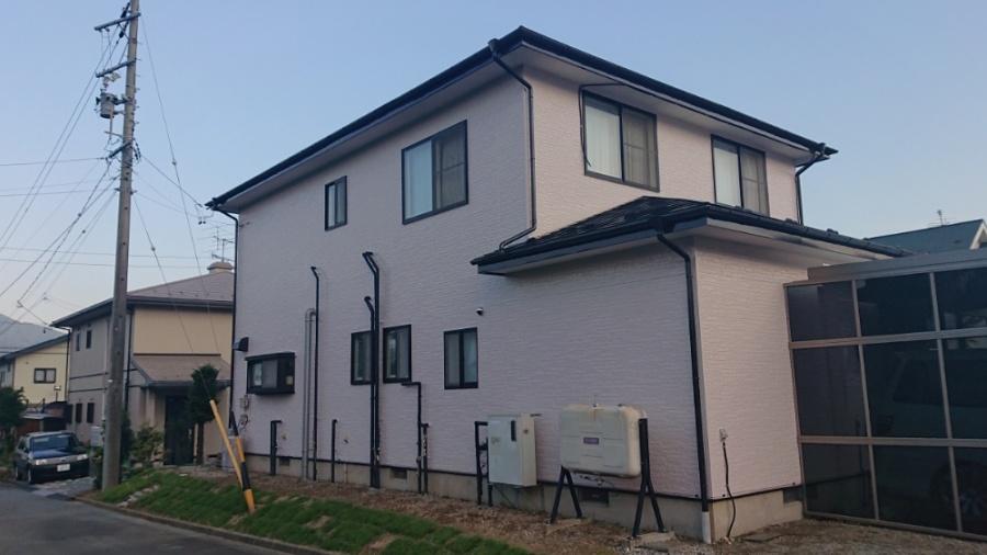 安田邸塗装完成写真です