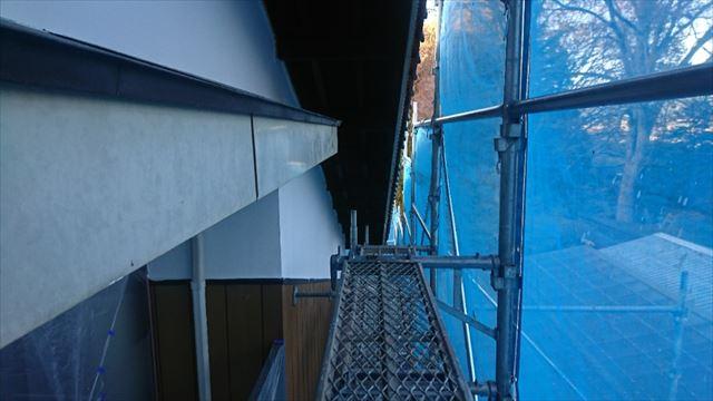 駒ヶ根市外壁塗装漆喰7