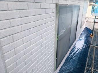 松本市外壁塗装ALC下塗り4
