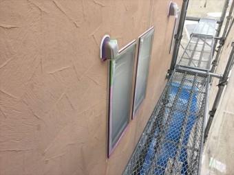 窓や床にも養生