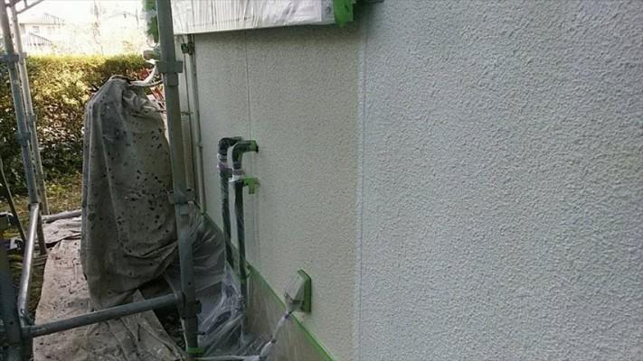 外壁のしたぬりです