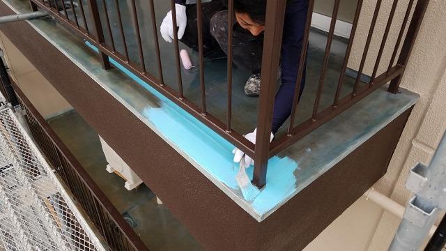 オルタックスカイ防水開始です