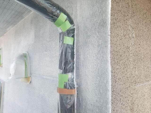 飯田市大瀬木外壁塗装下塗り5