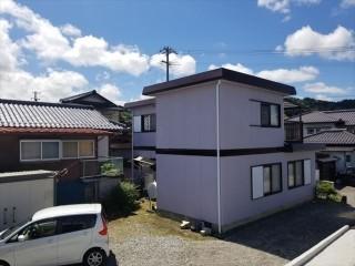 喬木村屋根外壁塗装完成3