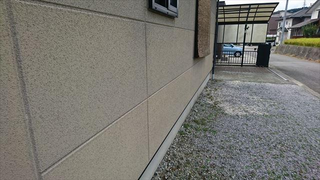 飯田市大瀬木外壁塗装現状3