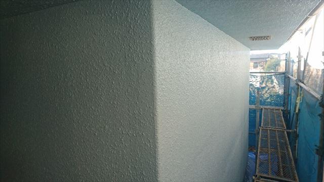 塩尻市外壁塗装屋根カバー上塗り3