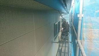 飯田市大瀬木ALC外壁塗装洗浄5