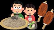 飯田名物、伊那名物、蕎麦、五平餅