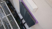 長野県宮田村パナホーム外壁塗装養生1