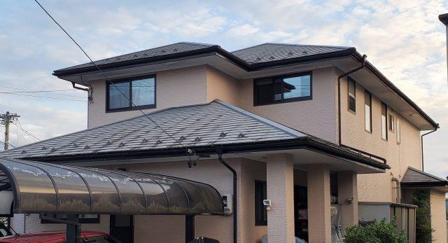 飯田市屋根塗装現調